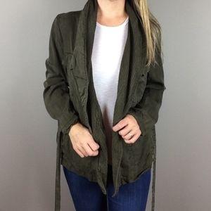 H&M Consiuous Olive Gren Utility Jacket Size XL